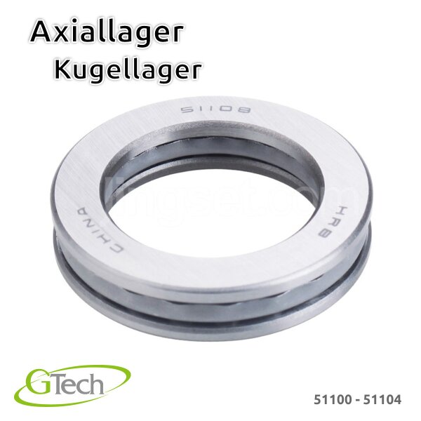 Axiallager Kugellager 51100-51104